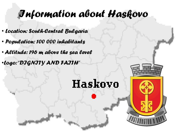 Information about Haskovo