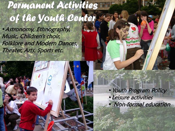 Permanent Activities