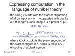 expressing computation in the language of number theory4