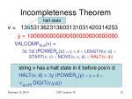 incompleteness theorem9