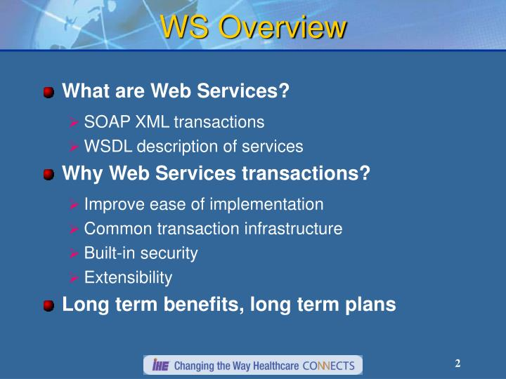 WS Overview