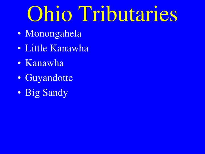 Ohio Tributaries