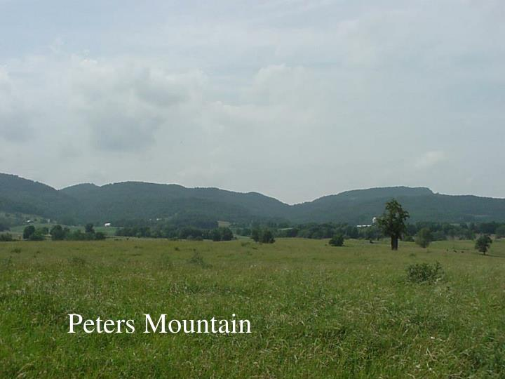 Peters Mountain