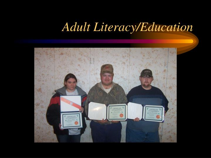 Adult Literacy/Education