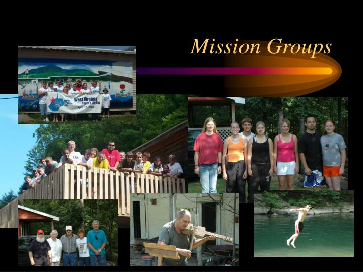 Mission Groups