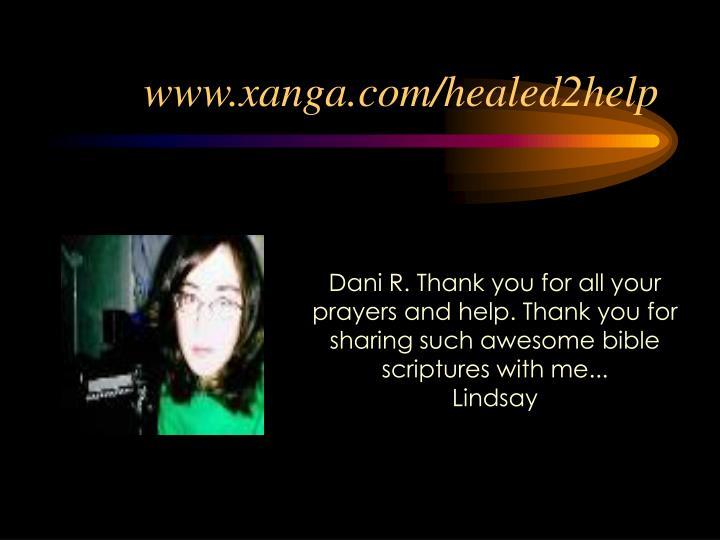 www.xanga.com/healed2help