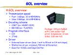 gol overview