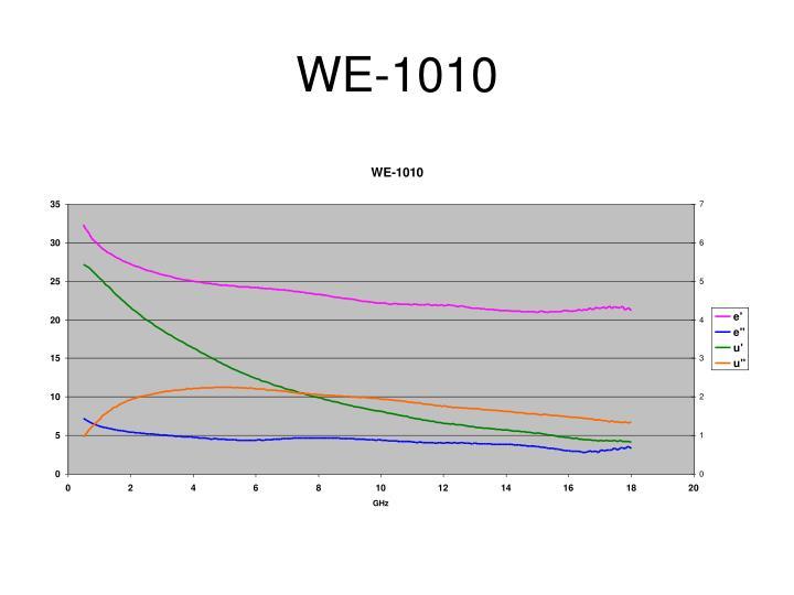 WE-1010