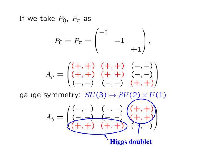 Higgs doublet