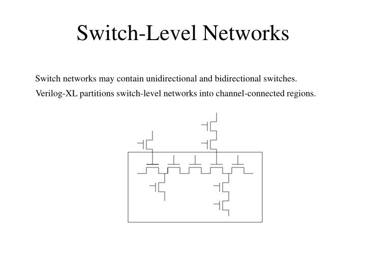 Switch-Level Networks