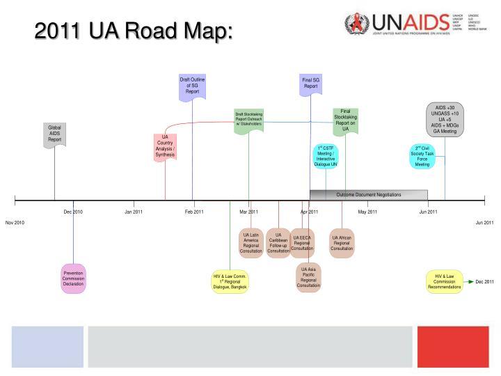 2011 UA Road Map: