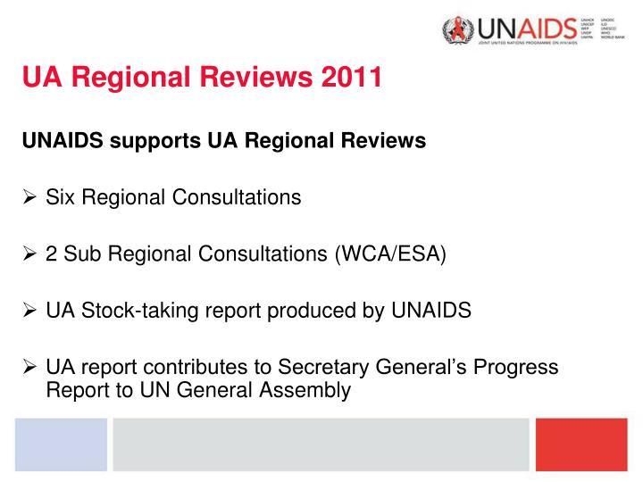 UA Regional Reviews 2011