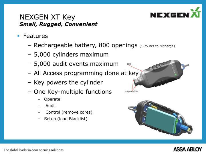 NEXGEN XT Key