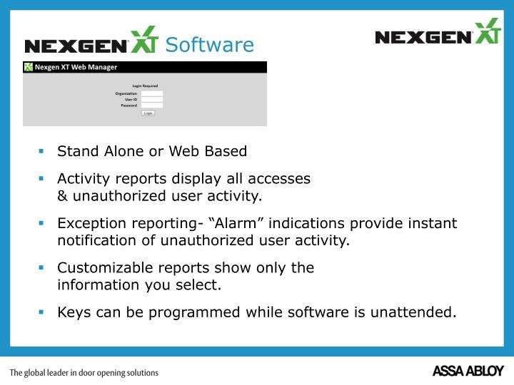 NEXGEN XT Software