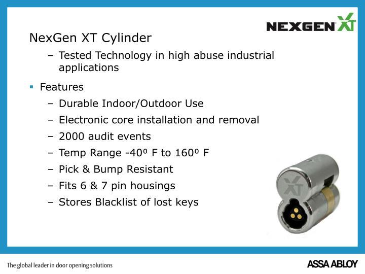 NexGen XT Cylinder