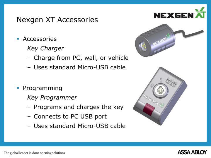 Nexgen XT Accessories