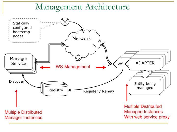 Management Architecture