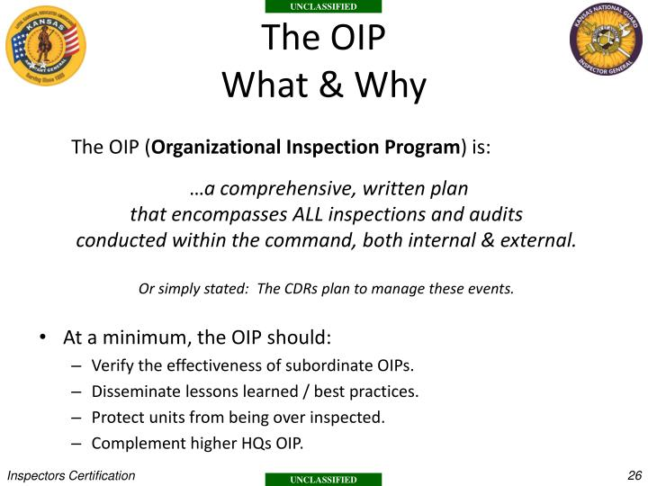 The OIP