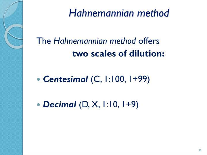 Hahnemannian