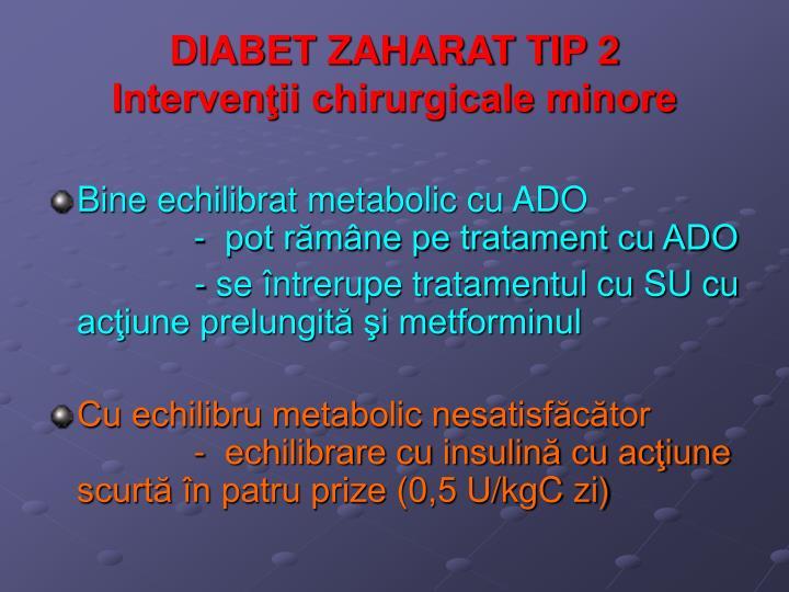 DIABET ZAHARAT TIP 2
