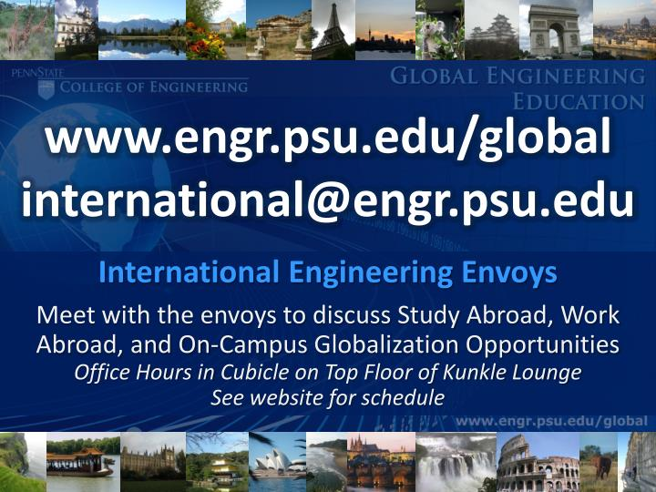 www.engr.psu.edu/global