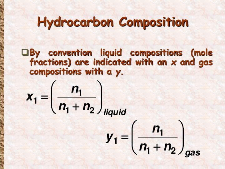 Hydrocarbon Composition