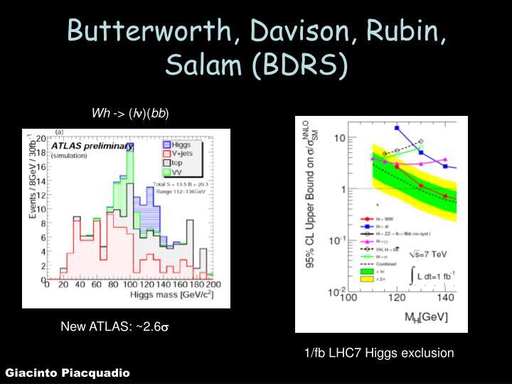 Butterworth, Davison, Rubin, Salam (BDRS)