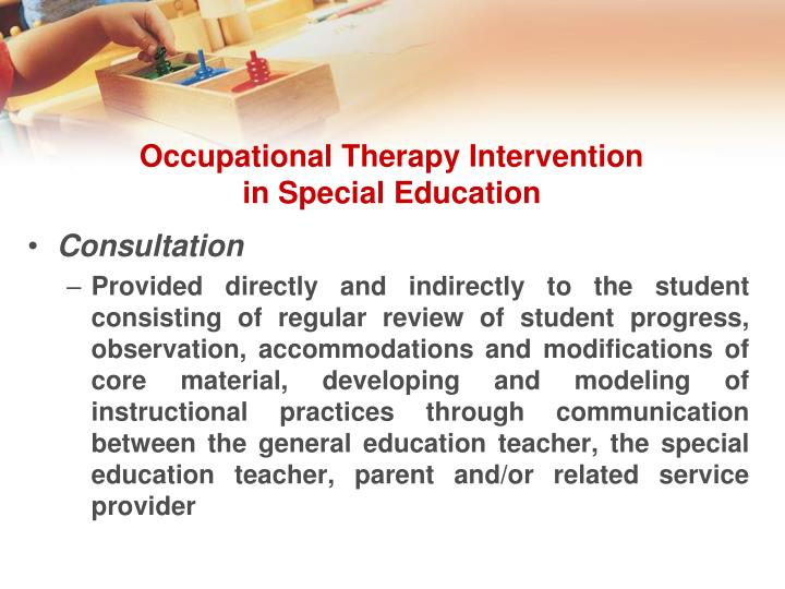 interventions special education