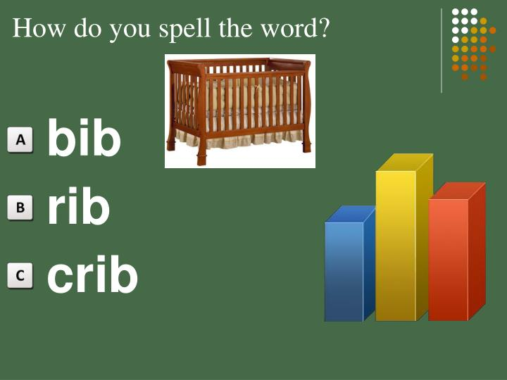 How do you spell the word?