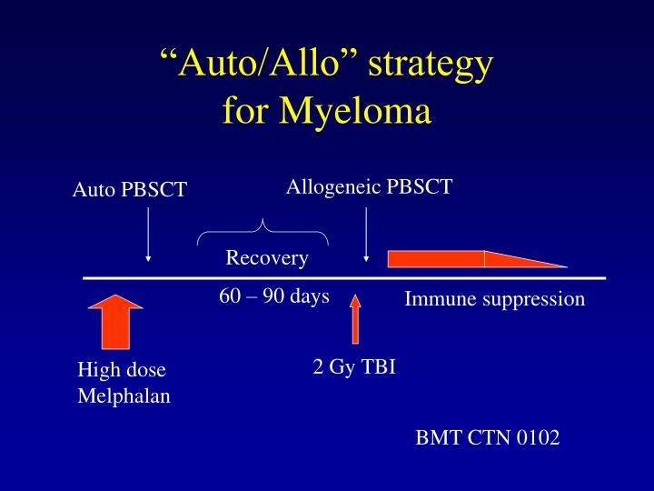Allogeneic PBSCT