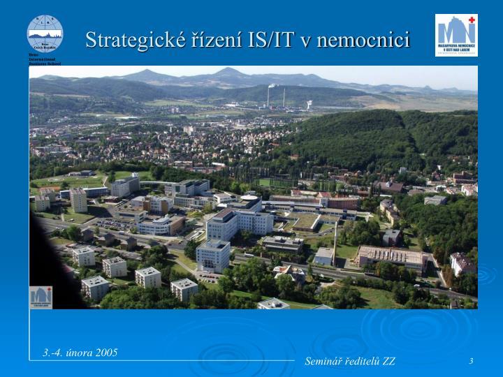 Strategické řízení IS/IT v nemocnici