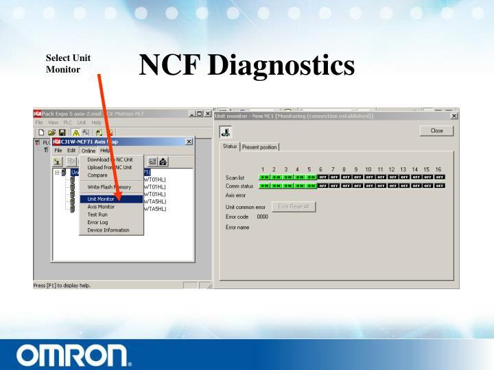 NCF Diagnostics