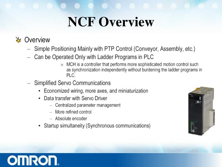 Ncf overview