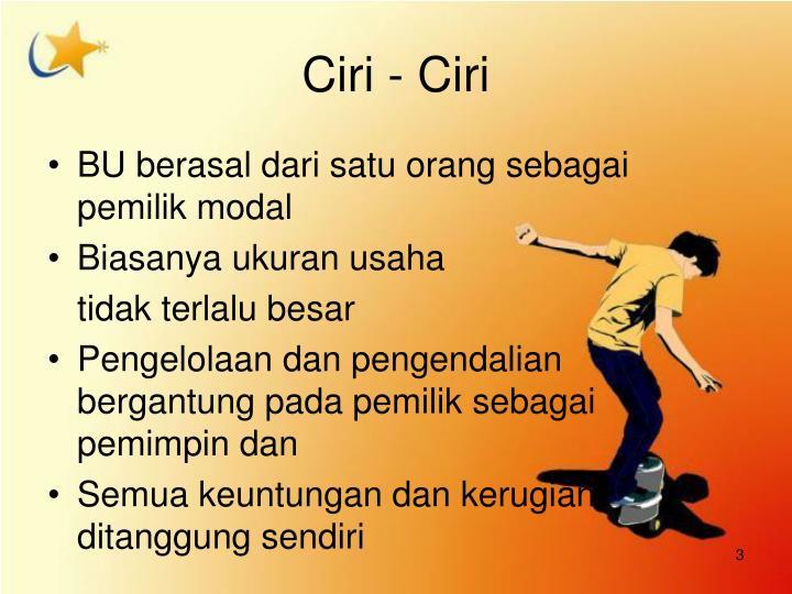 Ciri - Ciri