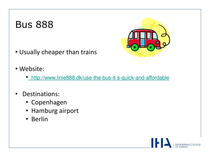 Usually cheaper than trains