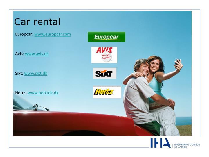 Europcar: