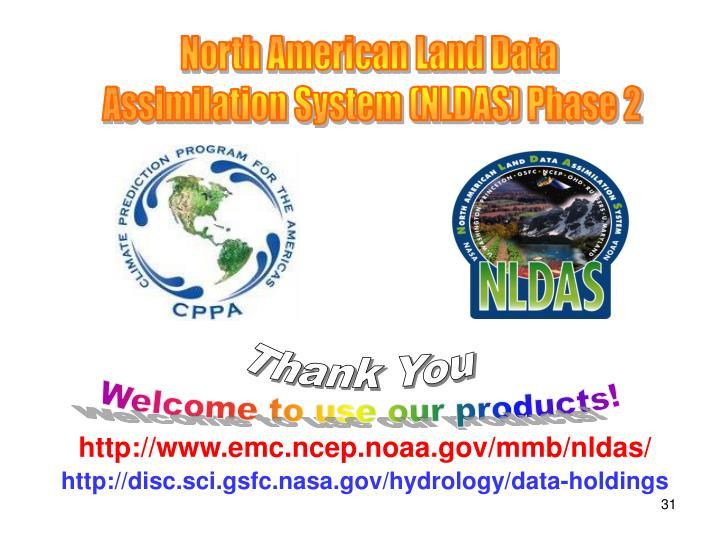 North American Land Data