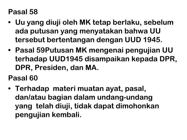 Pasal 58
