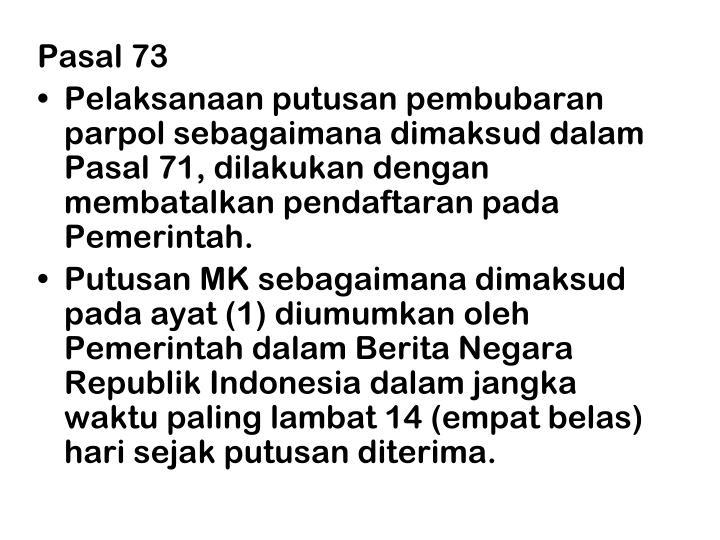 Pasal 73