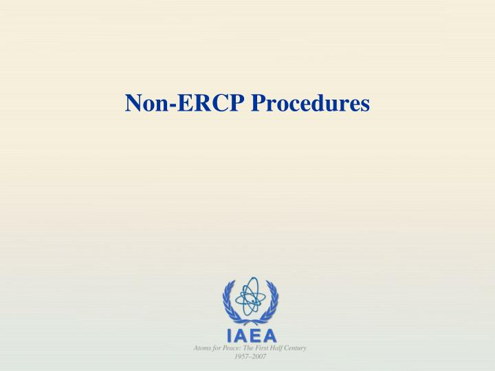 Non-ERCP Procedures