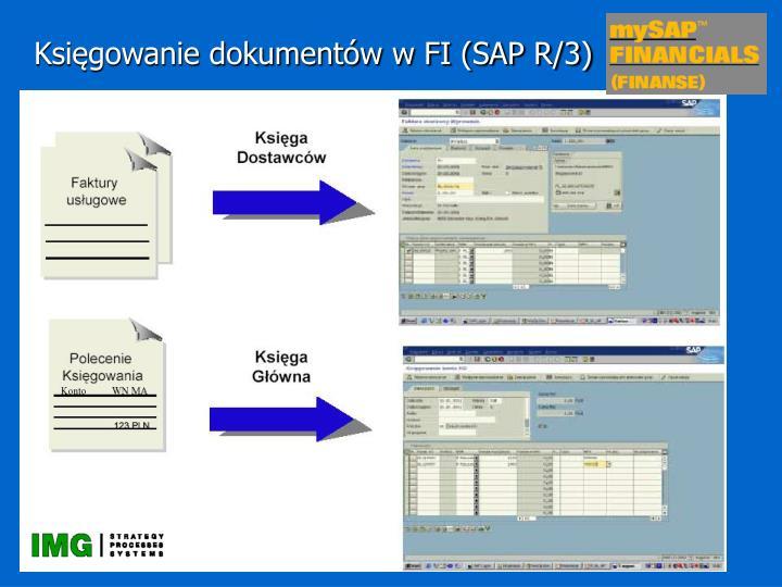 Księgowanie dokumentów w FI (SAP R/3)