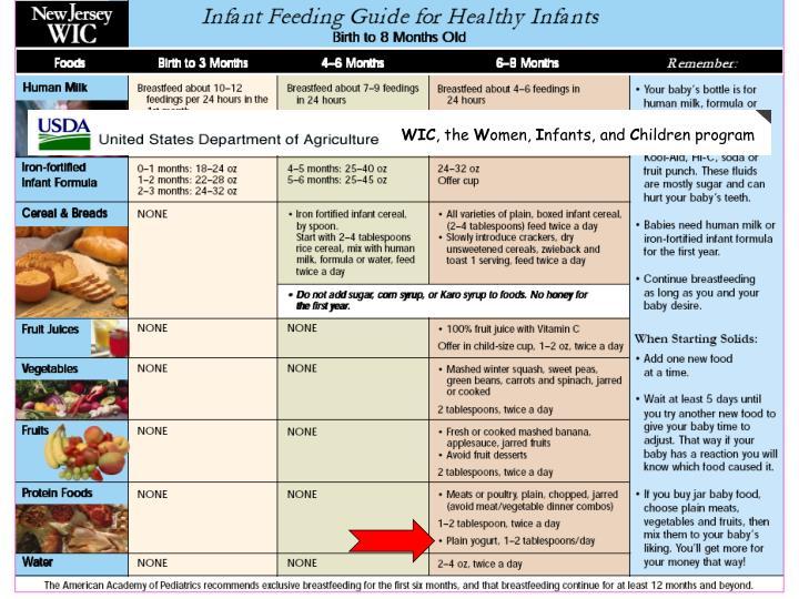 breastfeeding and the wic program essay