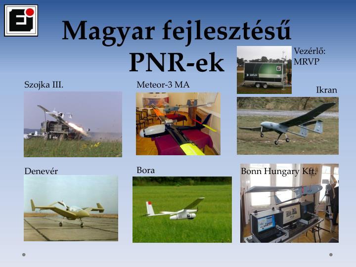 Magyar fejlesztésű PNR-ek