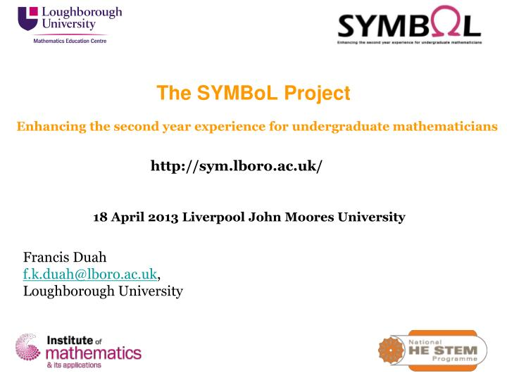 Enhancing the second year experience for undergraduate mathematicians