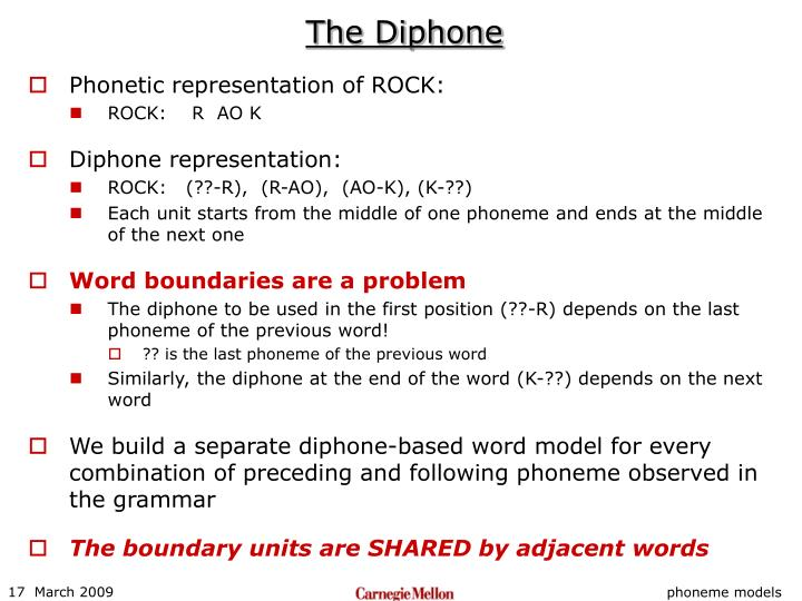 The Diphone