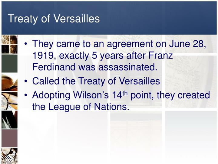 the versailles thesis the roots of wwi and wwii The aim of the thesis is to provide a romania and its aggressive policies before and during world war i and during world war ii.