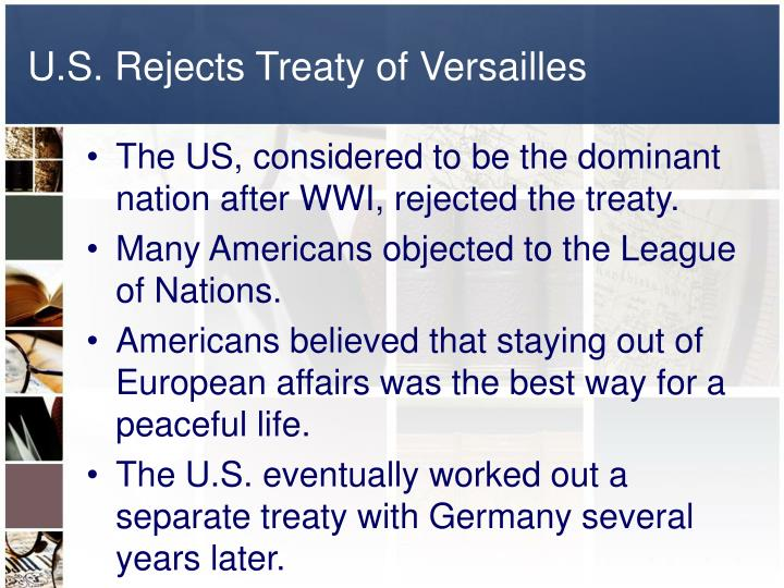 the treaty of versailles essay example Germany resentfully signed the most famous treaty ever, versailles although years of readjusting the treaty followed, this essay will focus mainly on the strengths.