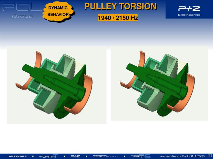 PULLEY TORSION