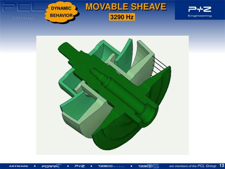MOVABLE SHEAVE