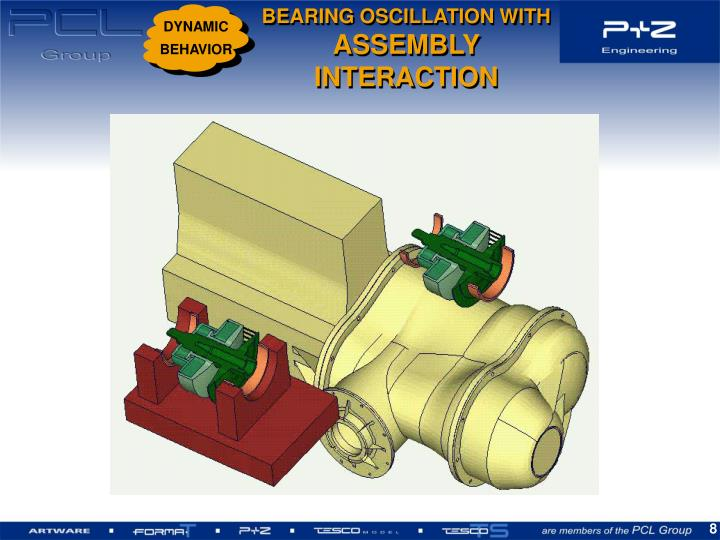 BEARING OSCILLATION WITH